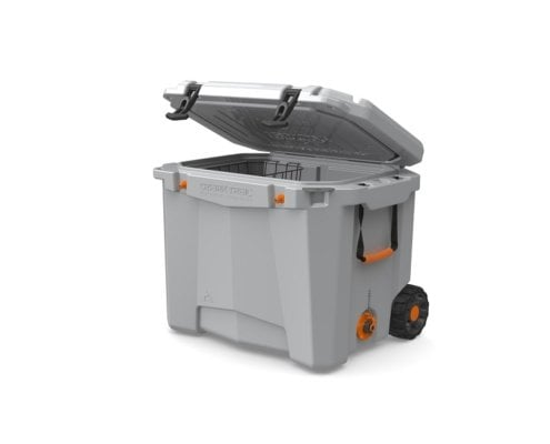 Roto Molded Cooler with Wheels 8