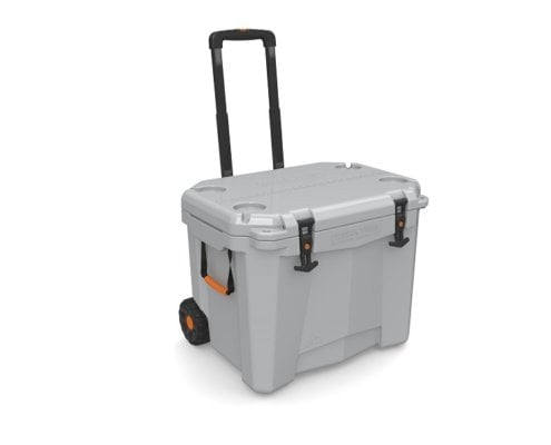 Roto Molded Cooler with Wheels 9